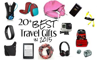20+ Best Travel Gifts for the Holidays 2015