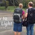 Backpack Travel Light FI