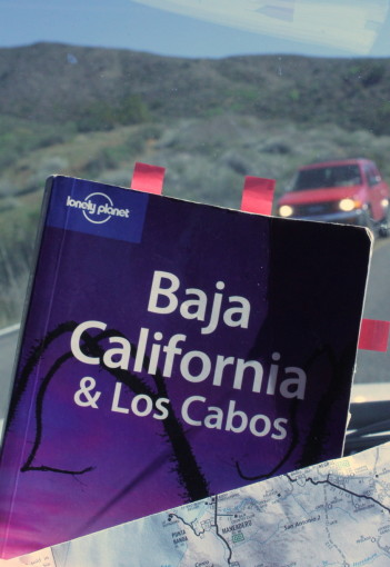 Lonely Planet Book Mexico Baja California Cabo with Map
