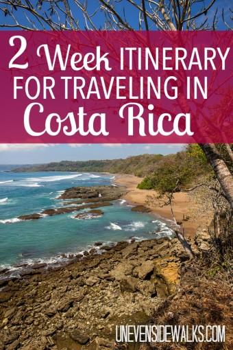 2 Week Costa Rica Pinterest