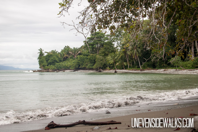 Secluded Beach in Osa Peninsula Costa Rica