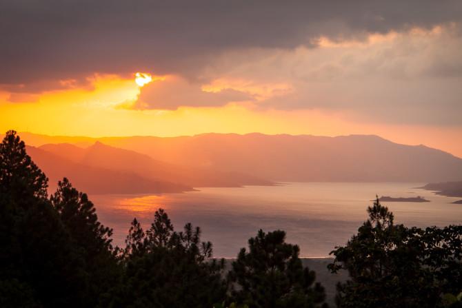 Sunset at Arenal