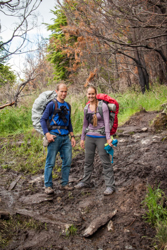 Torres del Paine Muddy Trails