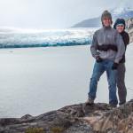 Torres del Paine Hugs at Glacier Grey