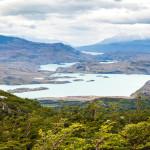 Torres del Paine Overlooking Lake