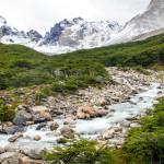 Torres del Paine - River in Valle del Frances