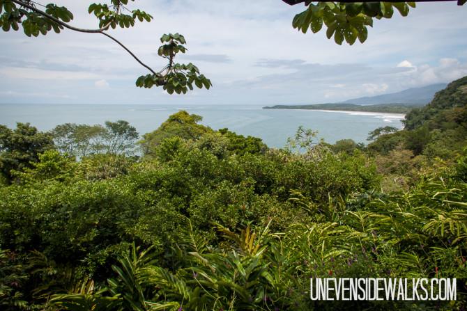 Beautiful Panoramic views at Uvita Beach
