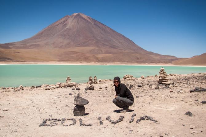 Laguna Verde in Boliva