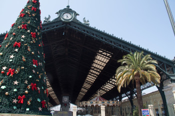 Central Station and Main Bus Terminal in Santiago