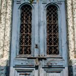 Antique door in Santiago Chile
