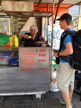 Empanadas for Sale in Rancagua Chile