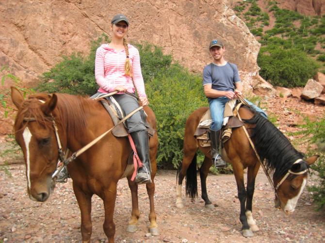 Horseback Riding in Tupiza, Bolivia