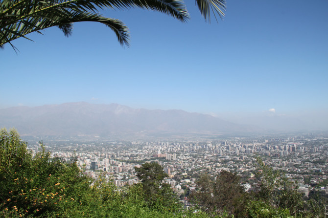 Santiago, Chile - View of the City