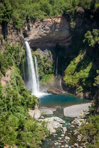Siete Tazas Velo de la Novia Waterfall - Bridal Veil Waterfall