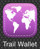 Trail Wallet app Icon
