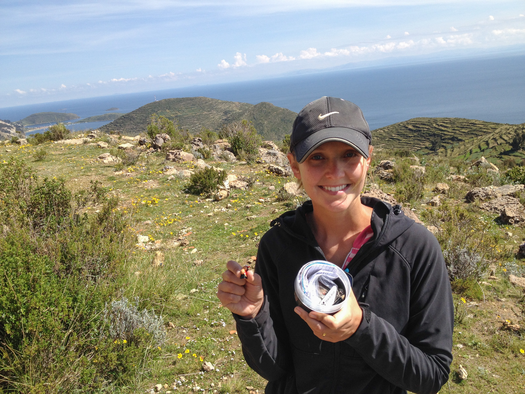 Geocaching at Isla del Sol