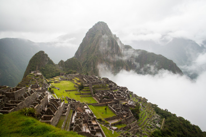 Geocaching in Machu Picchu