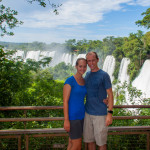 Landon and Alyssa at Iguazu Falls