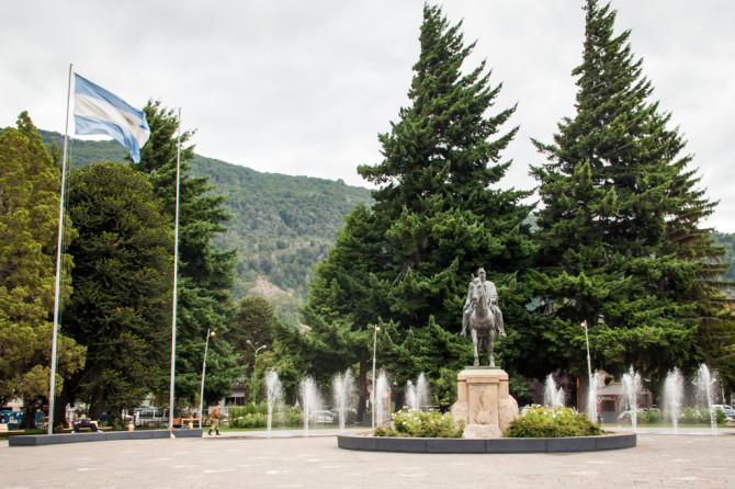 San Martin de Los Andes Central Park