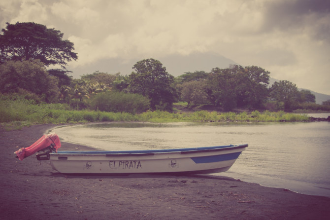 Boat at El Pirata