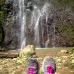 Footage of San Ramon Waterfall