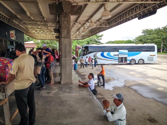 Nicaragua customs check area