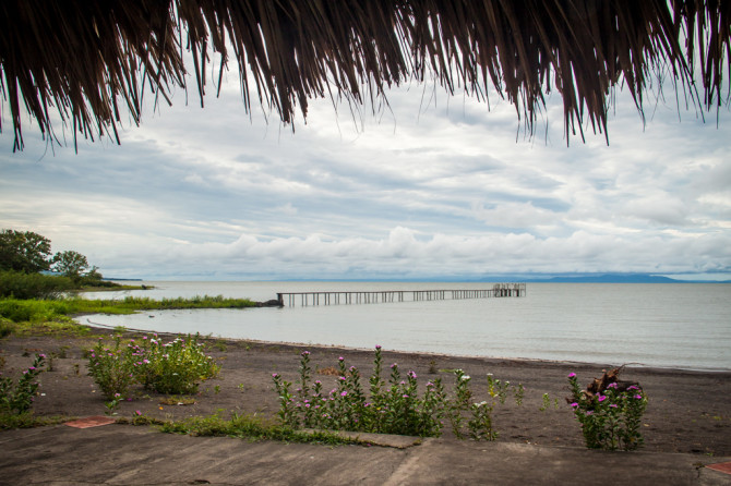 View of Lake Nicaragua from Hotel del Pirata