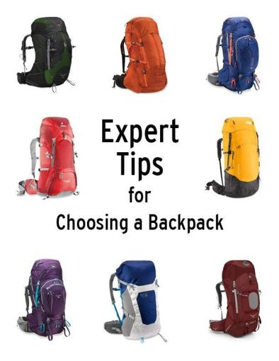 Expert Tips for Choosing a Backpack