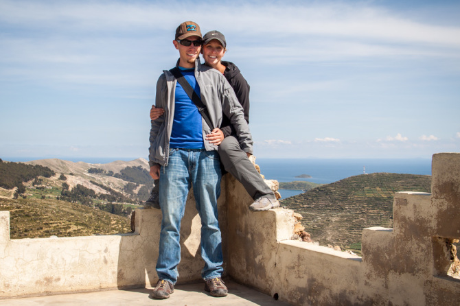 Landon and Alyssa Living Abroad for 1 Year, at Isla del Sol