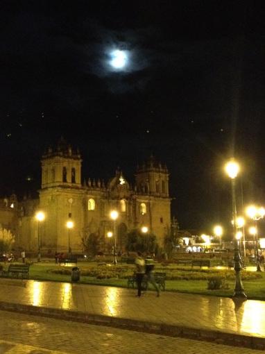 Night Moon in Cusco