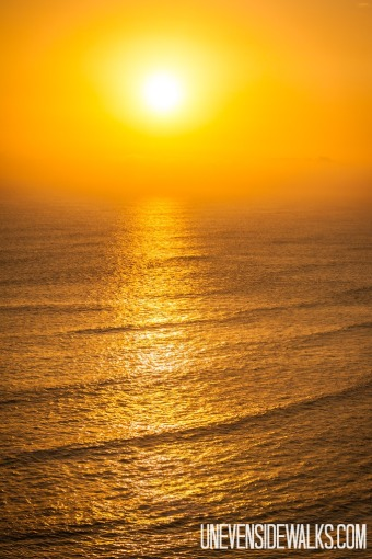 Favorite Sunset over Ocean in Peru