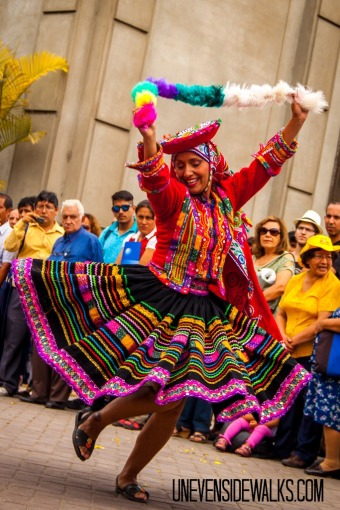 Favorite Travel Photo Traditional Dancing in Lima Peru