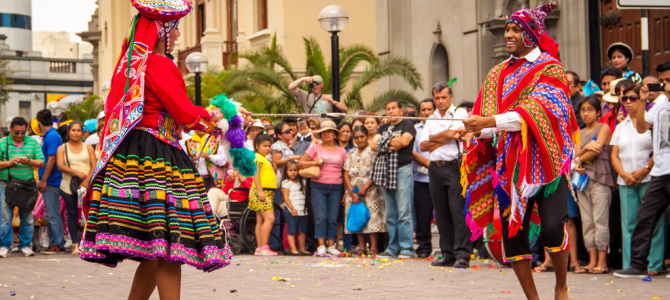 Traditional Dancing in Lima Peru-featured