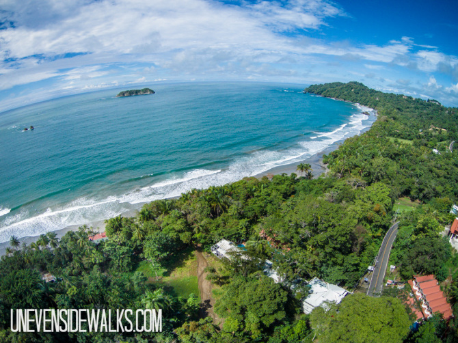 Favorite Aerial Photo Hotel Verde Mar at Manuel Antonio National Park Beach