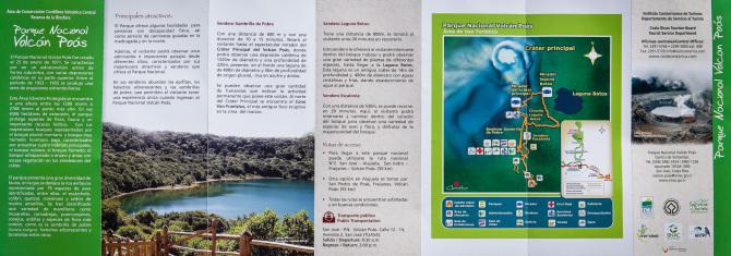 Poas Volcano Park Brochure Side 2