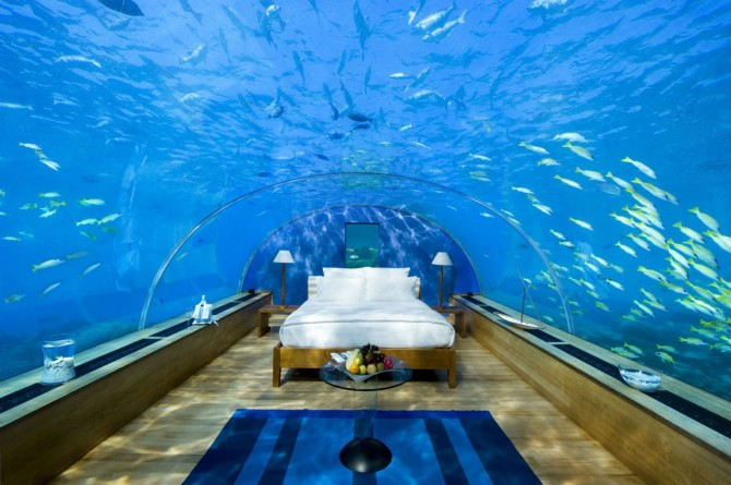Friday Favorites, Underwater Hotel