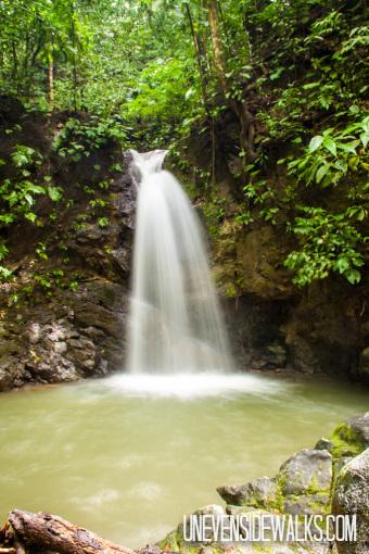 Waterfall near Corcovado National Park