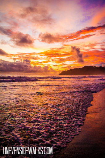 Beautiful Manuel Antonio Beach Sunset in Costa Rica for Friday Favorites