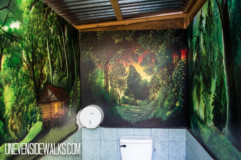 Mural in Bathroom
