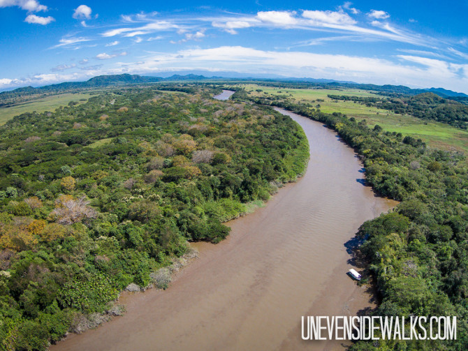 Tempisque River in Costa Rica