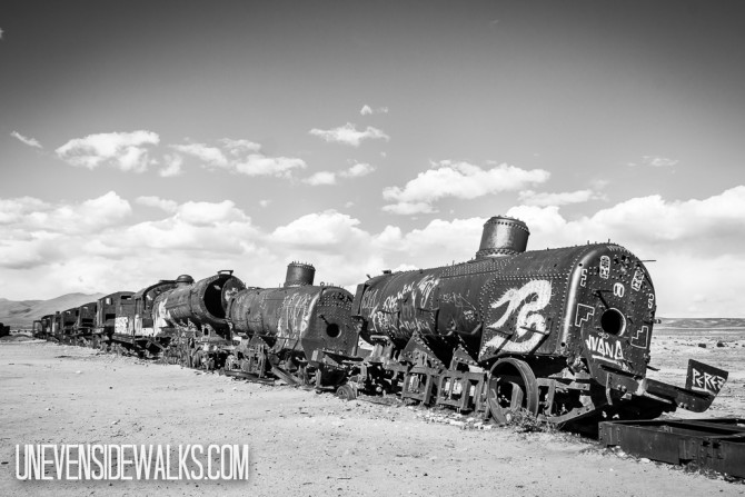 Train Graveyard junkyard