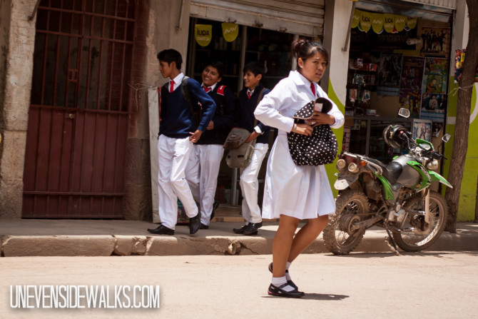 School Children in their Uniforms