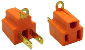 3 to 2 Prong Electrical Adapter