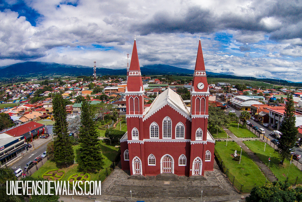 Grecia Church in Costa Rica
