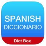 Spanish Dict box app