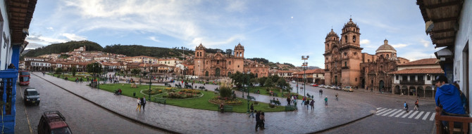 Cusco Downtown View