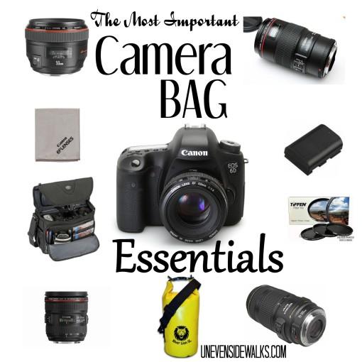 The most important camera bag essentials