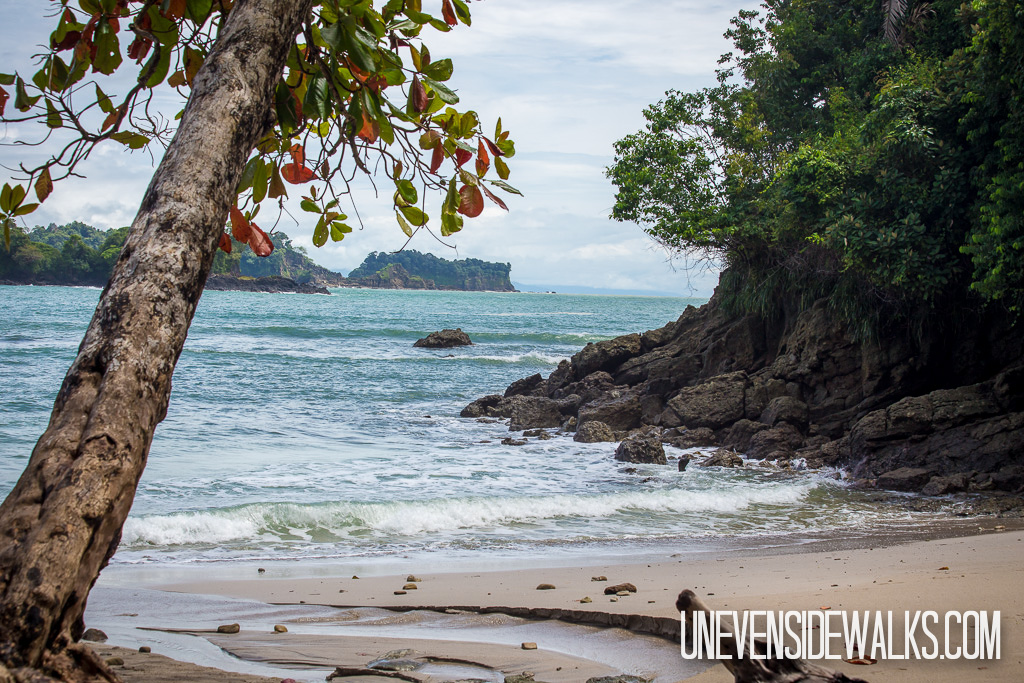 Beautiful Views of the Ocean Water Throughout the Manuel Antonio National Park
