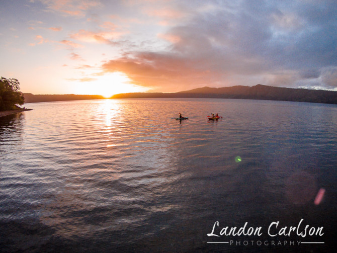 Sunrise Kayaking at Laguna de Apoyo