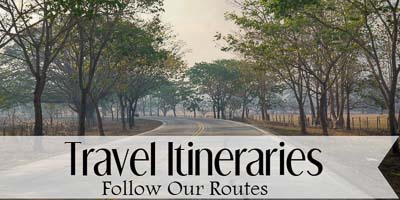 Travel Itineraries Button